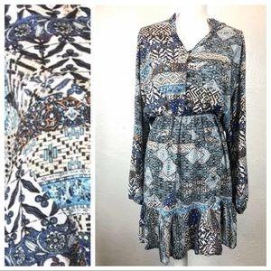 Jaase Anthropologie Women's Dress Size Medium Boho